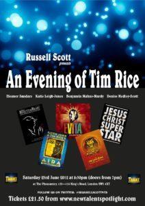An Evening of Tim Rice